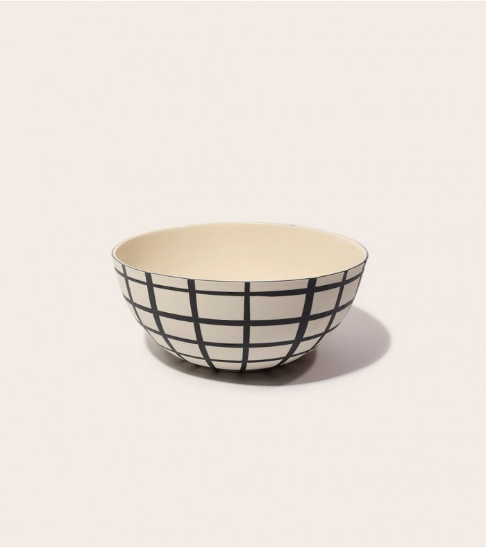 Natural ceramic dining bowl